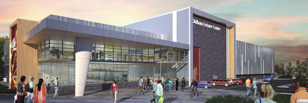New oldham sports centre timelapse community leisure