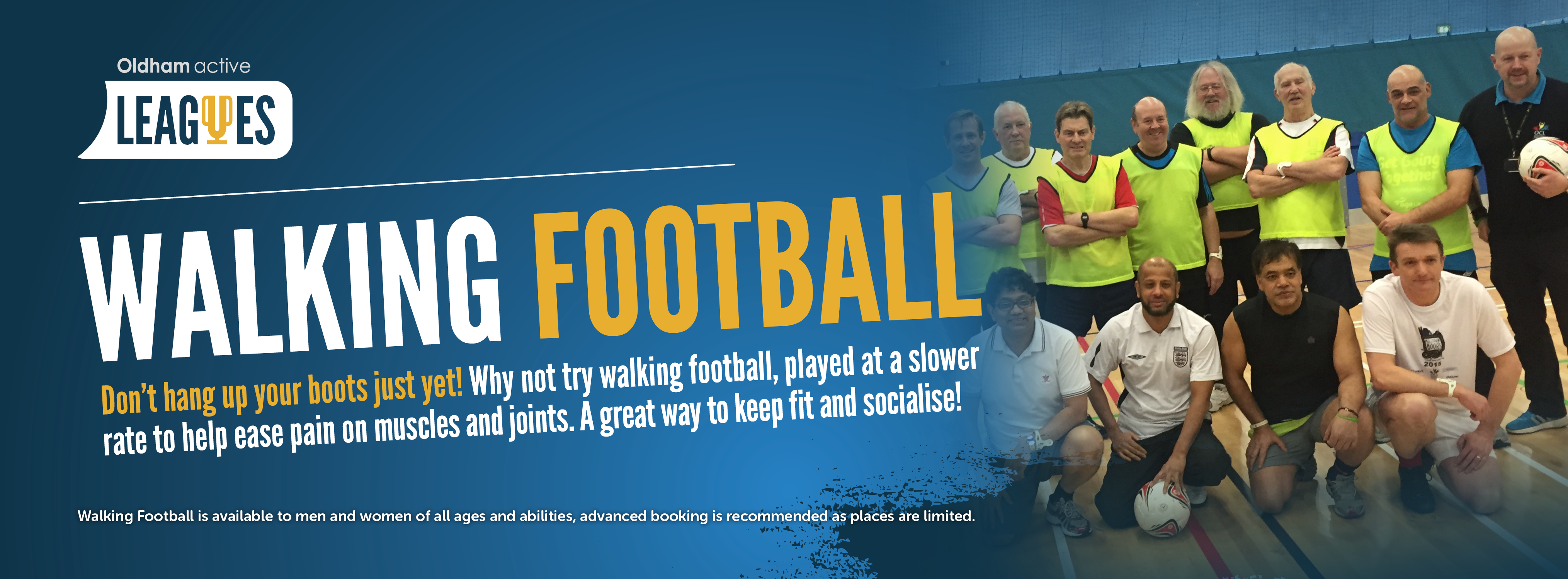 Oldham Active Leagues Walking Football